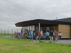 Nová letištní budova klubu v Anthisnes